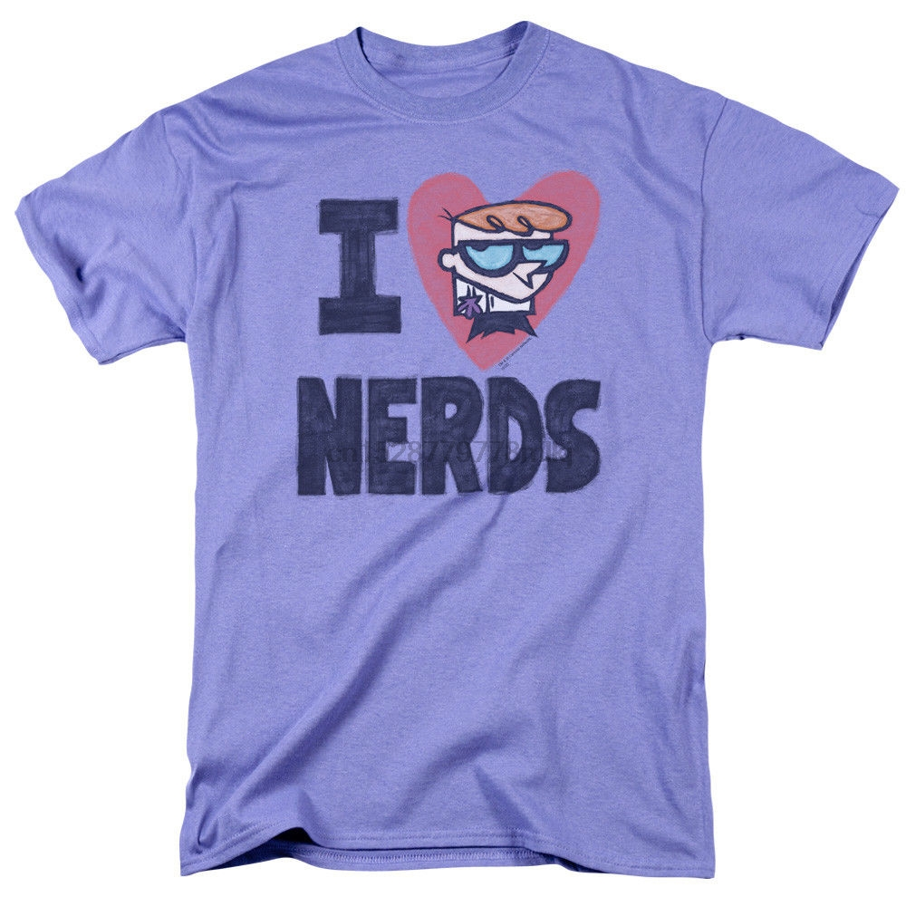 Dexter/'s Laboratory GENIUS Licensed Adult T-Shirt All Sizes