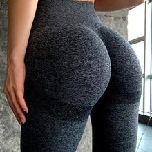 Yoga-Pants Tight Seamless Fitness High-Waist Sports Women for Legging Squat-Proof