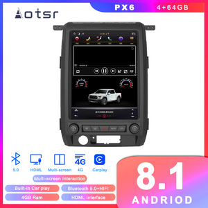 Tesla Style Android 8.1 GPS Navigation Car DVD Player for Ford Raptor Ford F150 2009-2012 Auto Radio Multimedia Player Head Unit(China)