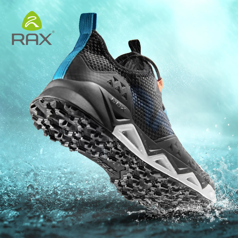RAX New Men Women Summer Hiking Shoes Breathable Upstream Shoes Trekking Aqua Shoes Outdoor Fishing Camping Sneaker Men