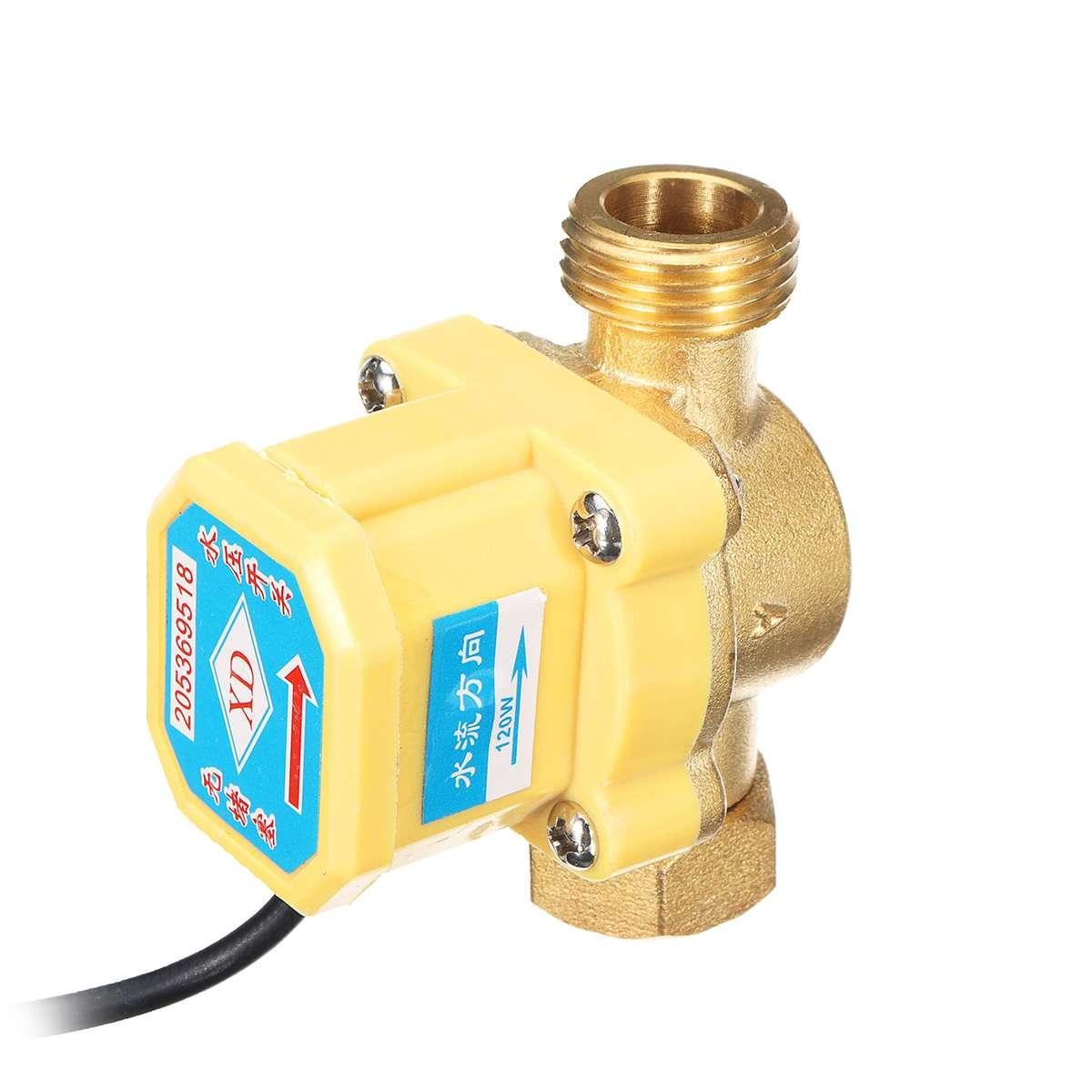 6 в-24 в DC водяной насос Солнечный водонагреватель Душ машина бустер насос керамический вал бесщеточный мотор насос с переключателем потока ...