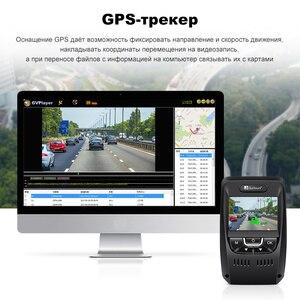 Image 4 - Junsun A7880 2 في 1 جهاز تسجيل فيديو رقمي للسيارات لتحديد المواقع Speedcam LDWS سوبر HD 1296P للرؤية الليلية السيارات المسجل مسجل فيديو مسجل داش كاميرا كام