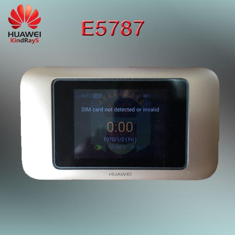 Unlocked Huawei E5787 E5787Ph-67a Cat6 300Mbps LTE Mobile Hotspot Battery 3000mAh LTE 4G Portable Pocket Wifi 360 Pocket Router