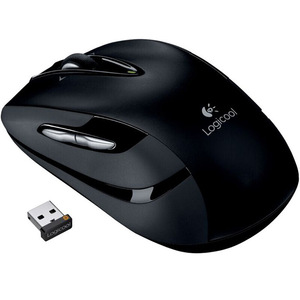 Image 2 - Logitech M546 Wireless Mouse with Laser Grade Advanced Optical Tracking Unifying Technology Back/Forward Thumb Buttons Mice