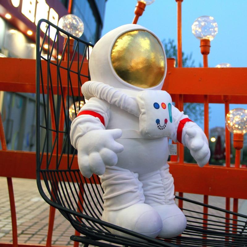 Космический астронавт, мягкая игрушка, плюшевая космическая ракета, уникальная игрушка космический корабль, набивная подушка для мальчика,...