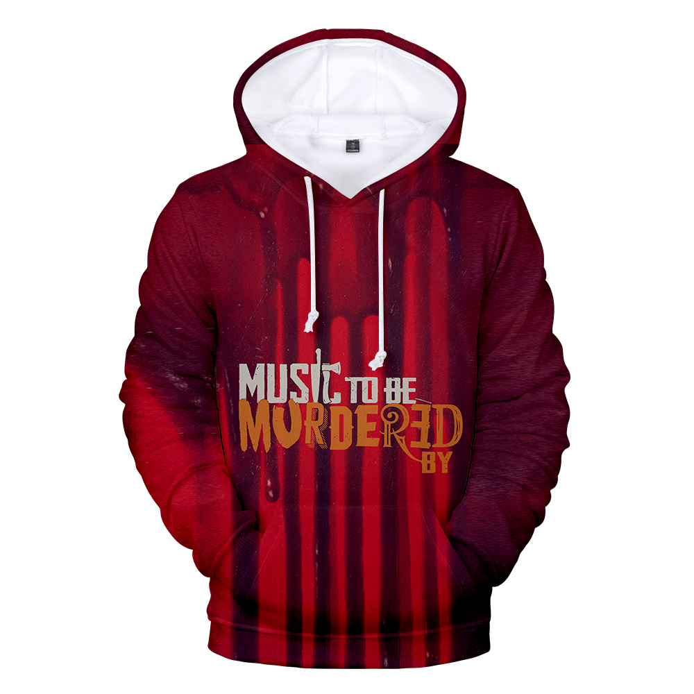 New Fashion 3D Eminem Hoodies Men Women Hoodie Autumn Long Sleeve Sweatshirts Kids 3D Eminem Hooded Boys Girls Red Streetwear
