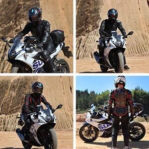 Image 3 - Motorrad Schutz Rüstung Jacken Brust Zurück Schutz Getriebe Motocross Ski Skateboard Snowboard Sicherheit Jacke Körper Protector