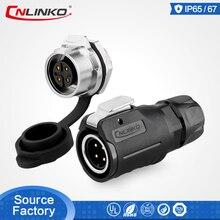купить M16 Compatible UL Compact AC Power Male Female IP67 Waterproof Soldering 4 Pin Aviation Circular Wire Harness Cable Connector по цене 638.29 рублей