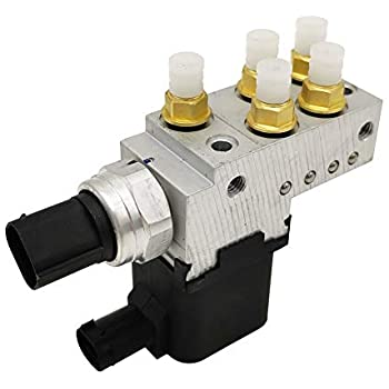 Air Suspension Compressor Valve block Control Unit For Mercedes Benz W211 E320 E500 <font><b>E55</b></font> CLS55 E63 2113200158 A2113200158 image