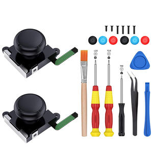 Thumb-Stick Switch Replacement Joy-Con-Repair-Kit Nintendo Analog Tri-Wing ABLEWE 3D
