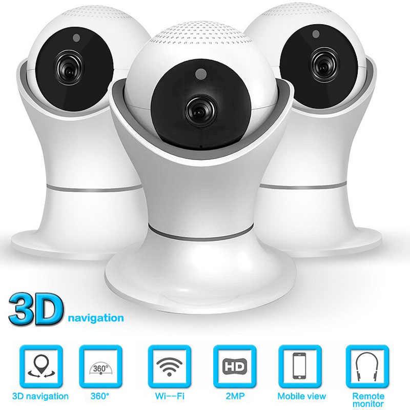 Панорамирование/наклон CCTV камера видеонаблюдения 2-мегапиксельная крытая камера ночного видения CCTV 1080P Wifi ip-камера Детский Монитор Двусторонняя аудио