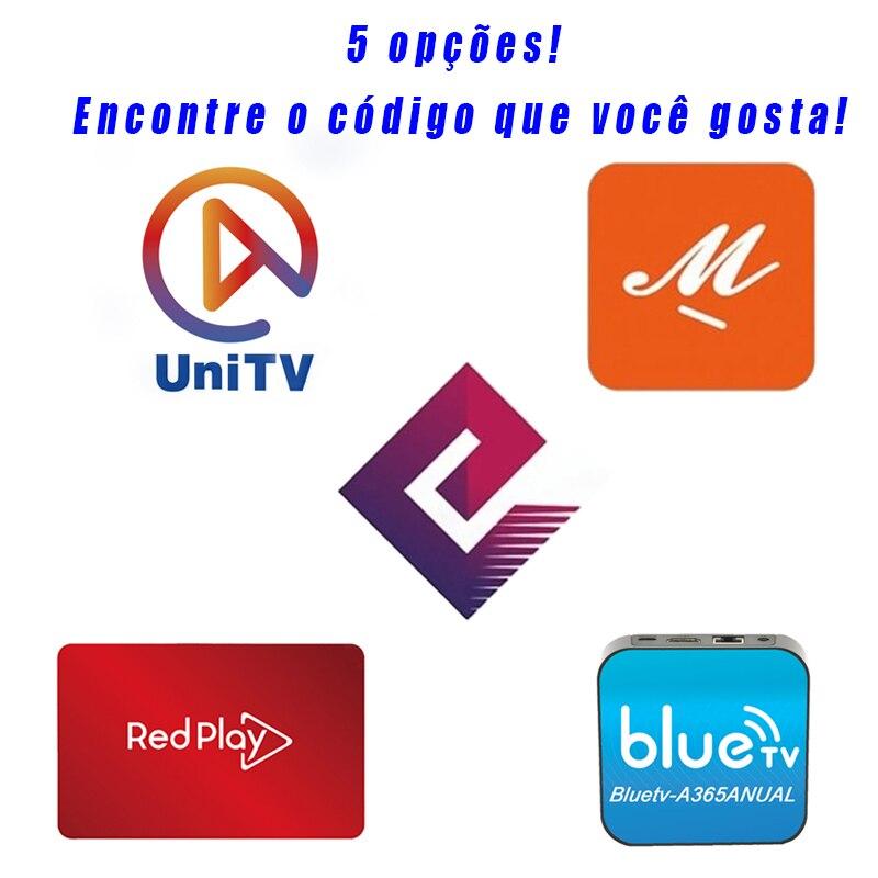 TVExpress MFC unidad V TVE BlueTV Mijn Familie RedPlay para Voor brasileño