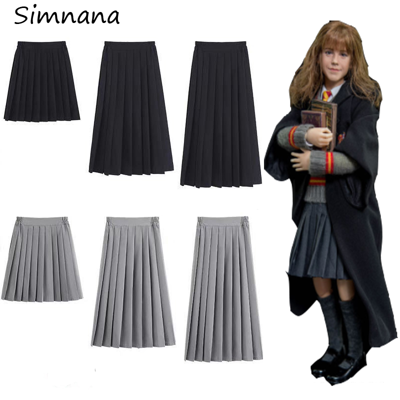 Hermione Granger Skirt Anime Potter Hermione Cospaly Short Pleated Skirt Gryffindor Cospaly Costume