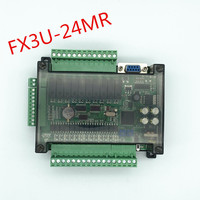 FX3U-24MR 高速国内の plc 産業用制御ボードとケースと 485 通信