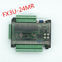 FX3U 24MR placa de controle industrial doméstica de alta velocidade do plc com caso com comunicação 485