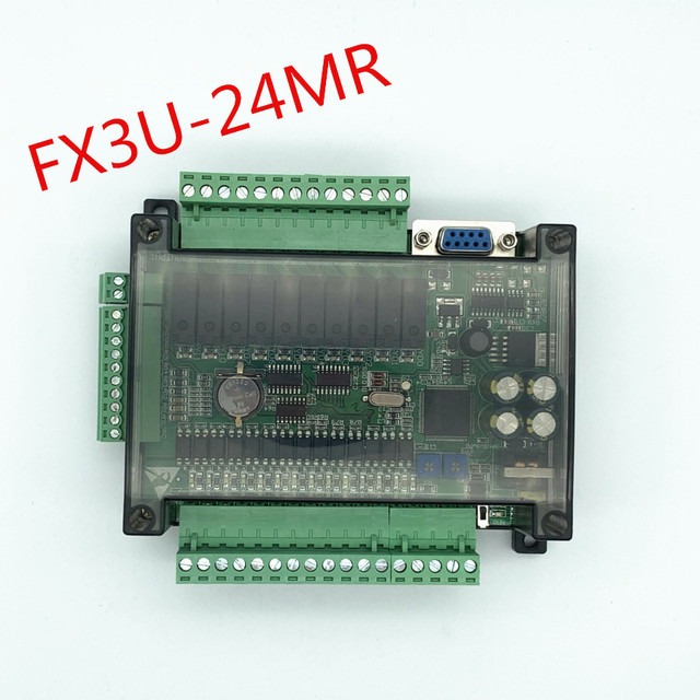 FX3U 24MR 高速国内の plc 産業用制御ボードとケースと 485 通信
