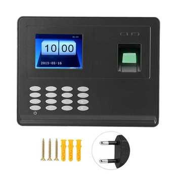 2 8 cala biometryczne rozpoznawanie linii papilarnych czas obecności oprogramowanie bezpłatny zegar 100-240V cerradura electrica tanie i dobre opinie