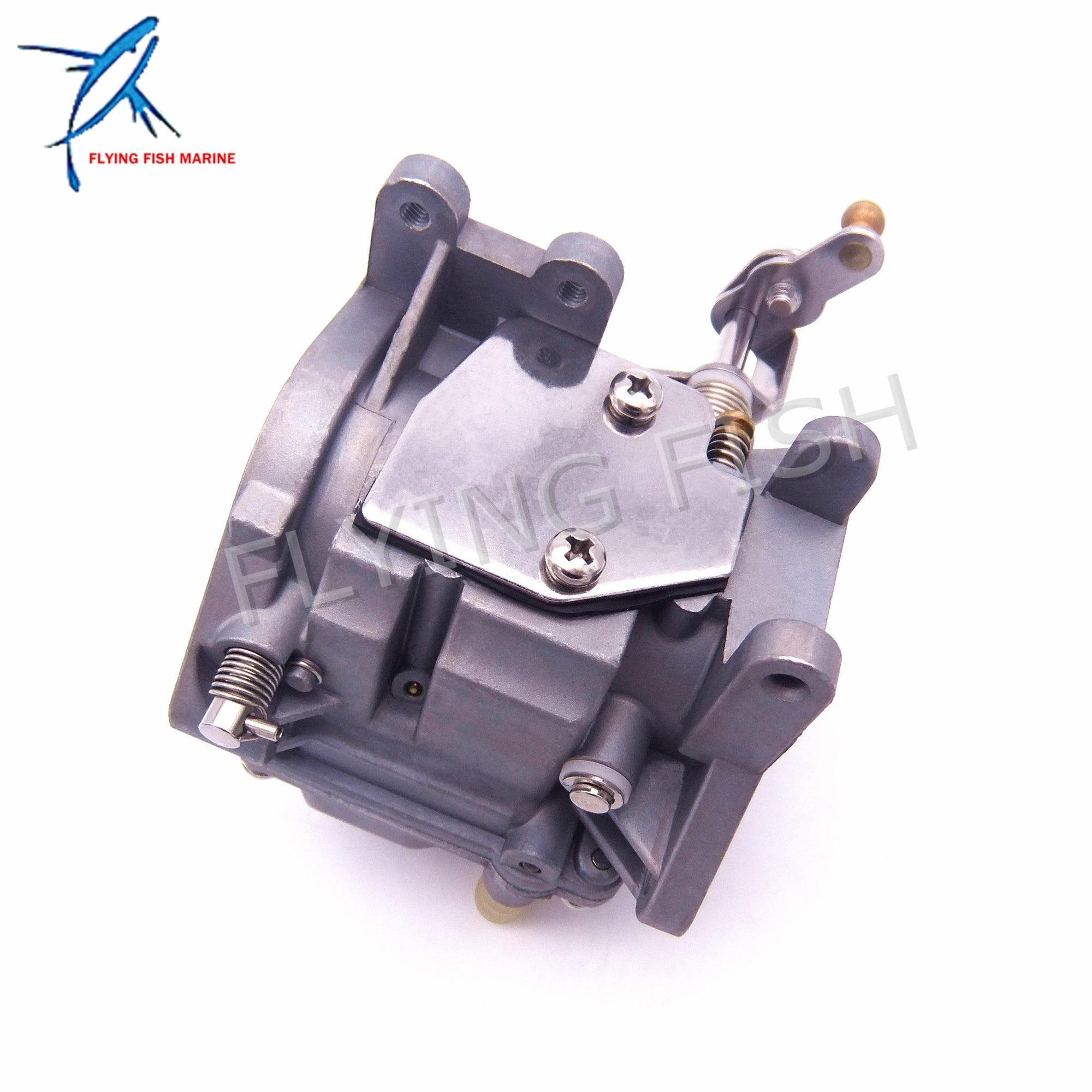 Boat Motor Carburetor Assy 69P-14301-00  69S-14301-00  61N-14301 For Yahama 2-stroke E25B E30H  25B 30H