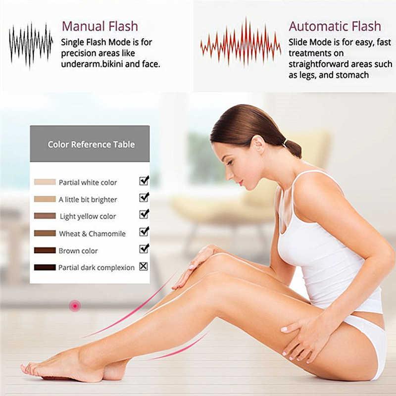 Nueva máquina de depilación láser 3in1 1800000 Flashes IPL depiladora láser permanente Bikini Trimmer depilador eléctrico a láser mujeres