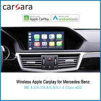 Merce des wired Android Auto for E Class W212 wireless CarPlay AirPlay Phonelink Box 2010 2015 NTG4.5/4.7 System Voice control