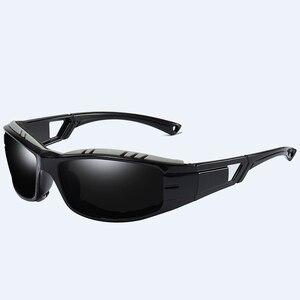Image 2 - VIAHDA lunettes de soleil polarisées pour hommes, nouvelle marque, Sport, miroir, de luxe, Vintage, pour conducteur