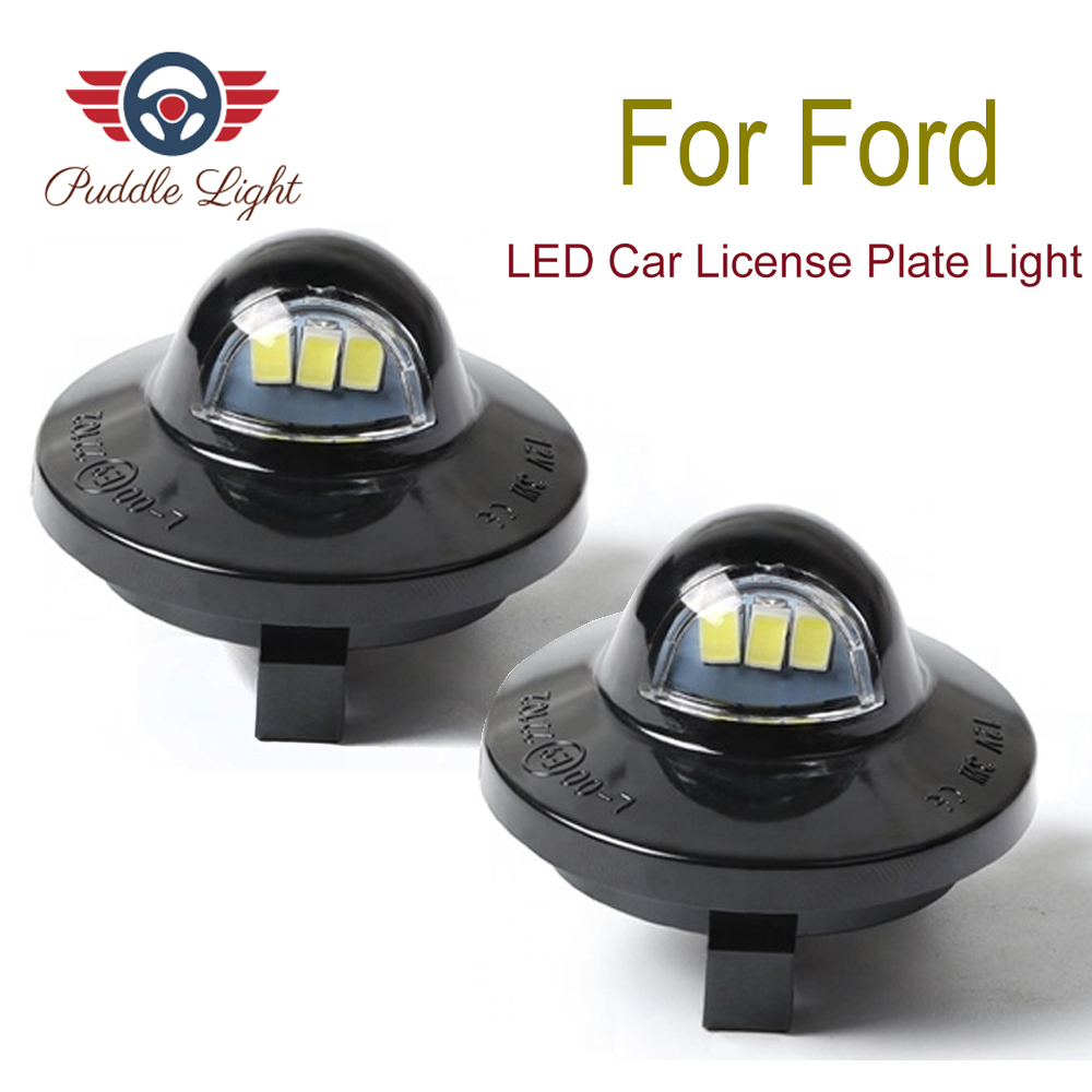 2pcs License Plate Light LED SMD For Ford Pickup Truck F-150 F250 F350 1990-2014