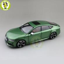 1/18 KengFai R S7 S 7 Hatchback Diecast โลหะของเล่นรถเด็กชายหญิงของขวัญ
