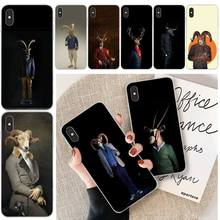 Goat fashion clothing Customer High Quality Phone Case For iphone 6 6s plus 7 8 plus X XS XR XS MAX 11 11 pro 11 Pro Max Cover fashion little flowers customer high quality phone case for iphone 6 6s plus 7 8 plus x xs xr xs max 11 11 pro 11 pro max cover