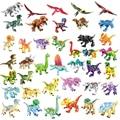 Фигурки Динозавров Юрского периода Тираннозавр Рекс, экшн-фигурки, кирпичи для парка, игрушки, подарок, совместимые с брендами, строительны...