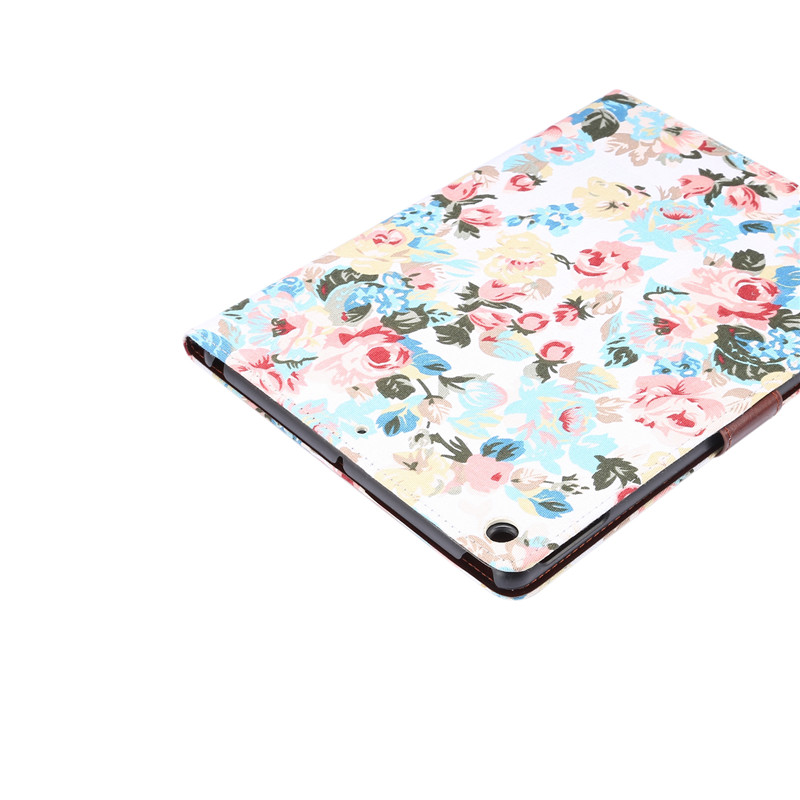 Cover 10.2 A2198 Funda Apple Skin Case For A2232 Flowers 7th A2200 For Generation iPad Smart iPad Stand Painted 2019 Shell