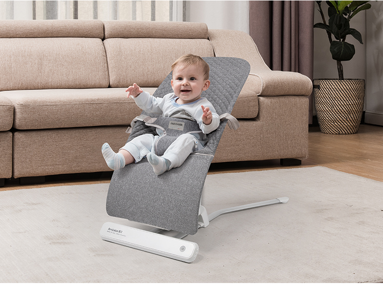 He4c00eacafe440f1a4f25db5170903ad5 Baby rocking chair sleepy baby artifact comfort baby chair child 0-36 months baby shaker newborn cradle to sleep