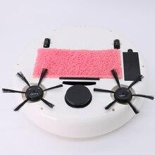 3 в 1 пылесос с низким уровнем шума, набор интеллектуальных роботов USB Smart, планируемый безмешковый подметальный бытовой зарядный мраморный деревянный пол