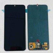 מקורי Amoled 6.3 אינץ עבור Huawei Honor 20 לייט LRA AL00 LRA TL00 LCD תצוגת מסך מגע Digitizer הרכבה עם ffingeprint