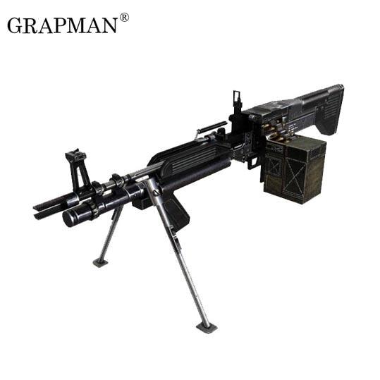 New 1//1 Scale FN57 Pistol Gun DIY 3D Paper Model Military Creative Puzzle Kit