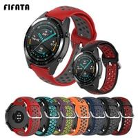 Fifata Smart Horloge Armband Band Voor Huawei Horloge GT2/Gt 2 Pro Siliconen Horloge Band Voor Honor Magic 1/2 46Mm Sport Wrist Strap