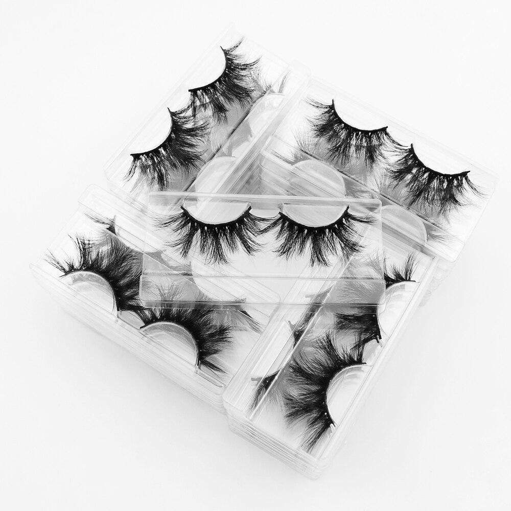 Image 4 - 40pairs Visofree Eyelashes 3D Mink Lashes with Tray No Box 25MM Lashes Mink Eyelashes Dramatic Volume Thick False Eyelashes E89Eyelashes Set   -