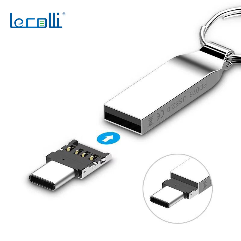 Mobile Phone Adapter Mini Type-C Android Otg Mobile Phone Android Tablet Universal Micro USB OTG Adapter U Disk Connector