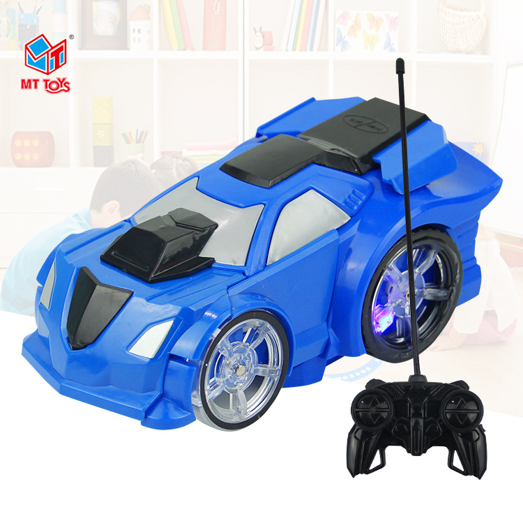 Manufacturers Wholesale Electric Remote Control Transformer Toy Model A Key Transformation Remote Control Car Children Transform