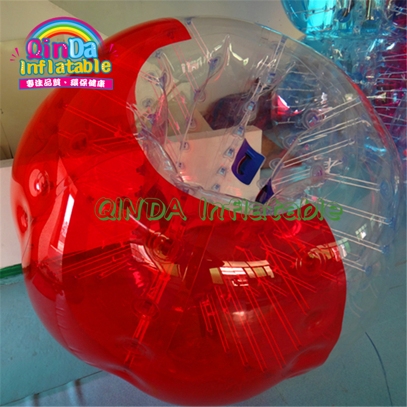 2 Persons Or Team Building 1.5m Inflatable Knock Loopy Balls For Human Inflatable Bumper Ball For Adults