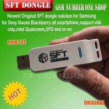 La más nueva solución SFT dongle para Samsung Sony Xiaomi Blackberry todos los teléfonos inteligentes, soporte mtk chip,intel Qualcomm,SPD y así sucesivamente