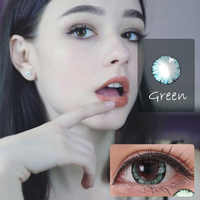 Beautiful Pupil Color Contact Lenses Monthly Throw Female Path 14.5mm Dolly Multicolor Party Gift Cartoon Decoration Cosplay
