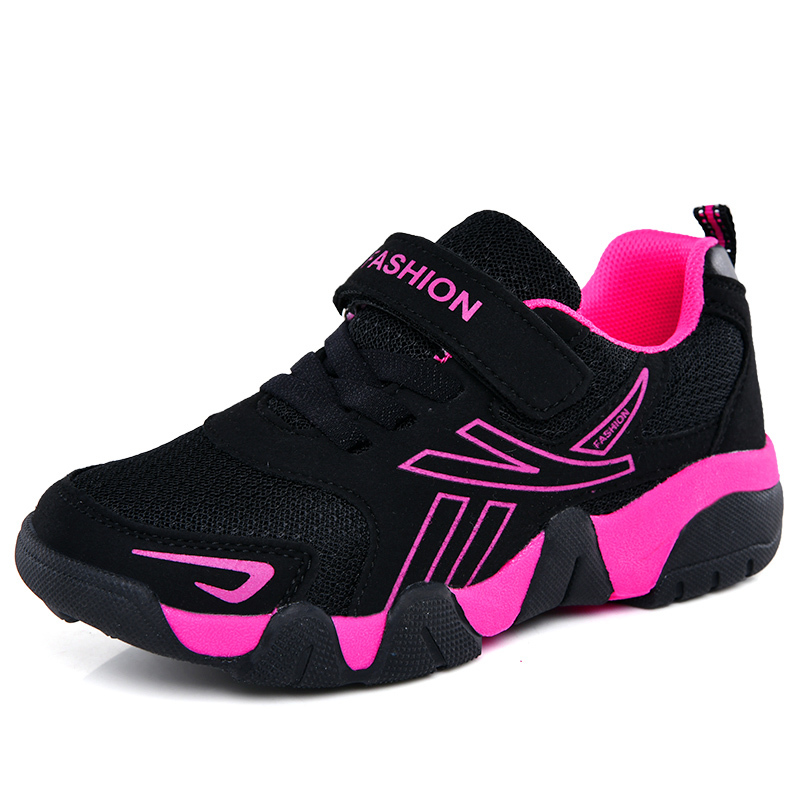Sport Girls Sneakers For Children Shoes Kids Sneakers Boys Casual Shoes Breathable Mesh Fashion School Sapato Infantil Menina