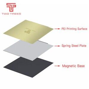 Image 2 - Autocollant magnétique flexible pour imprimantes 3D, feuille dacier à ressort, 220x220, 235x235, 310x310mm, lit chauffant saphir