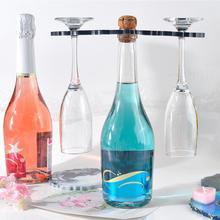 DIY Irregular Wine Rack Resin Mold Crystal Epoxy Resin Mold Silicone Red Wine Tray Mold Shaped Wine Glass Rack Coaster Mold european style resin wine rack