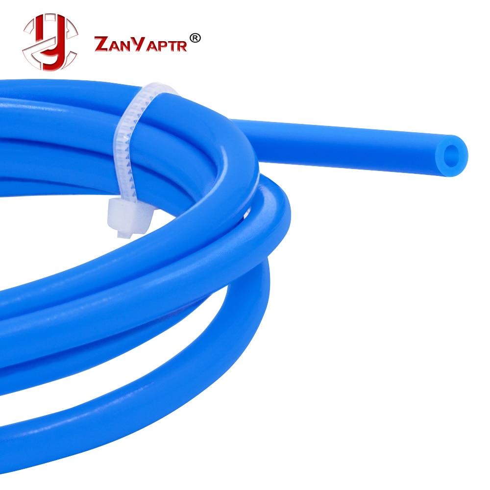 Tubo de ptfe teflonto tl-alimentador hotend reprap rostock bowden extrusora 1.75mm filamento id1.9mmod4mm tubo capricornus