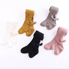 Cute Autumn Toddler Baby Girls Stockings Soft Pants Leggings Children Wings Stretchy Solid Print Trousers Bottoms