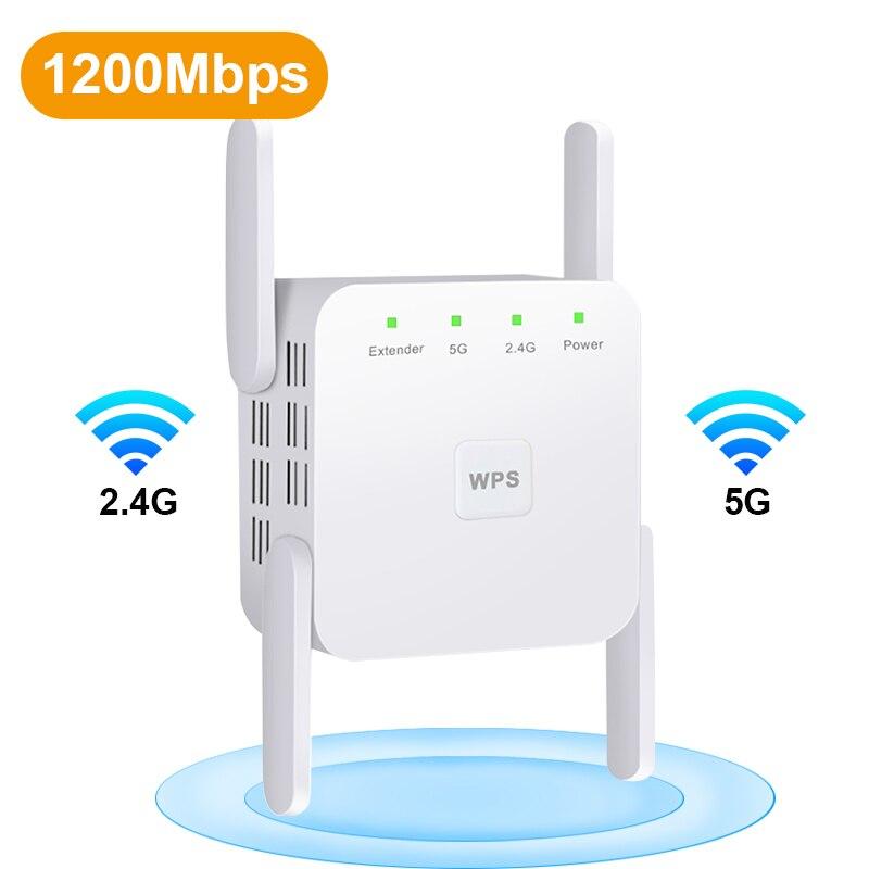 633.67руб. 41% СКИДКА|Беспроводной Wi Fi ретранслятор Wi Fi усилитель 2,4G/5Ghz усилитель WiFi 300/1200 M сигнал WiFi расширитель диапазона 802.11ac точка доступа|Беспроводные маршрутизаторы| |  - AliExpress