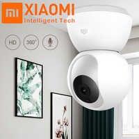 Xiaomi Original Mijia 1080P 360 grados hogar panorámico WiFi IP cámara de visión nocturna Cámara inteligente Webcam AI movimiento mejorado