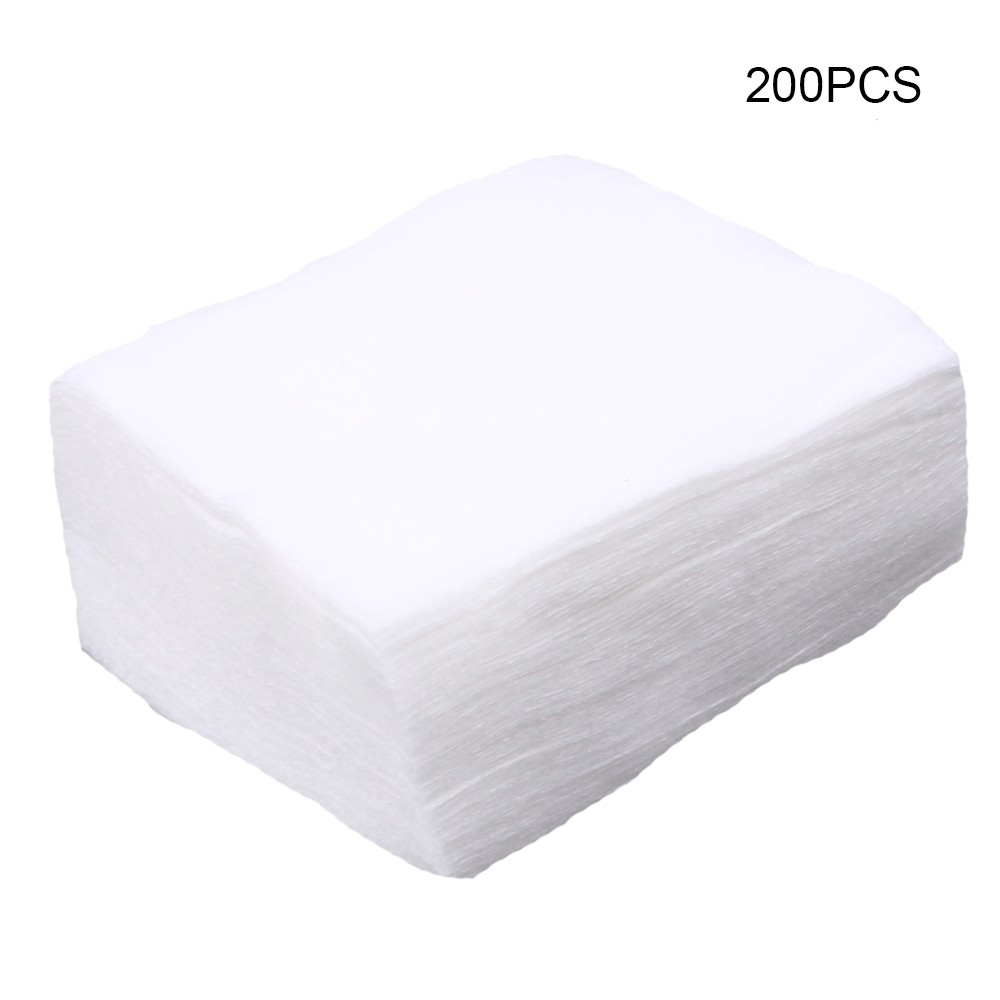200pcs/lot Gun Cleaning Patches High Absorbency Softness Gun Clean Cloth Hunting Clean Tools Accessories