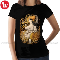 Snake T-Shirt PALLAS ATHENA Relaxed Fit T Shirt Pattern 100 Cotton Women tshirt Short-Sleeve Ladies Tee Shirt